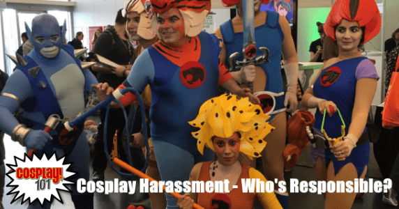 Cosplay Harassment