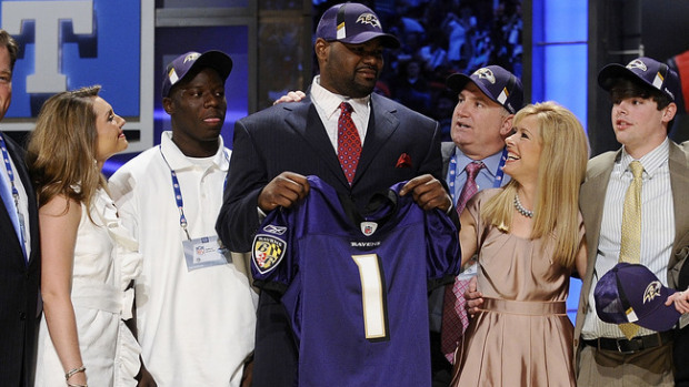 7c1f24c53 During his first time around to the Super Bowl with the Baltimore Ravens  following the 2012 season, Michael Oher avoided answering any questions at  all ...