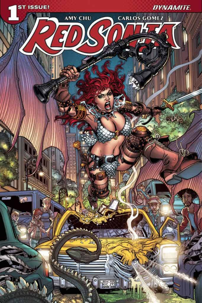 Red Sonja #1 – Cover A by Nick Bradshaw