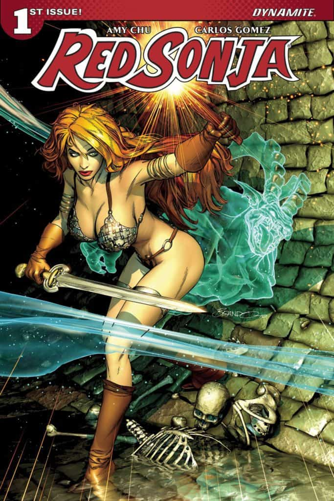 Red Sonja #1 – Cover C by Brandon Peterson