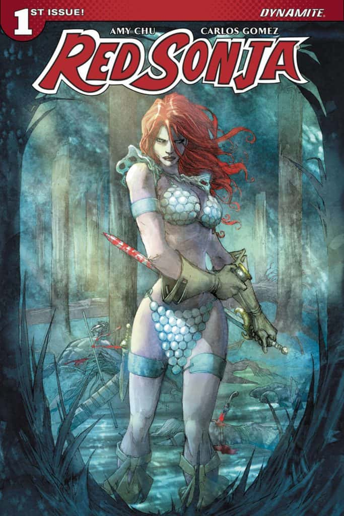 Red Sonja #1 – Cover D by Giuseppe Camuncoli