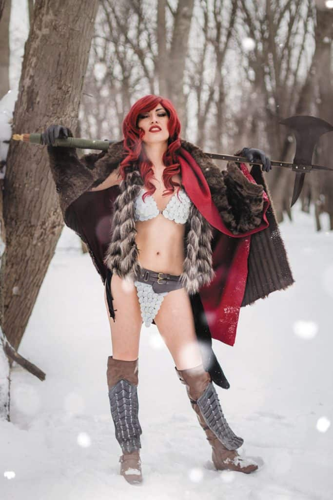 Red Sonja #1 – Cover E – Cosplay Variant