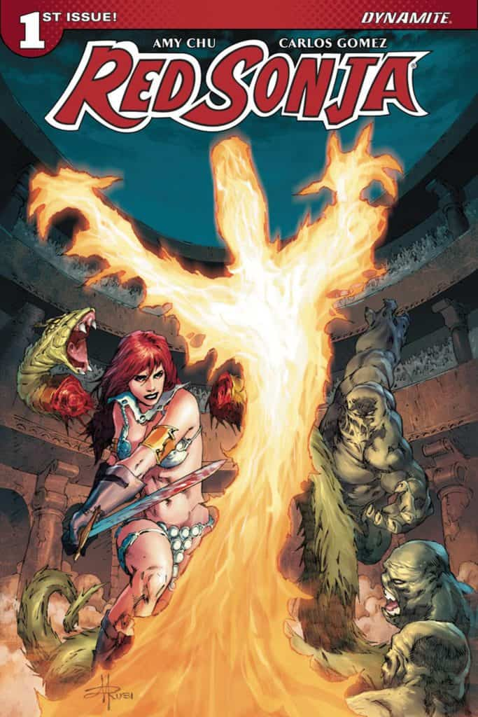 Red Sonja #1 – Cover F – Subscription Variant by Mel Rubi