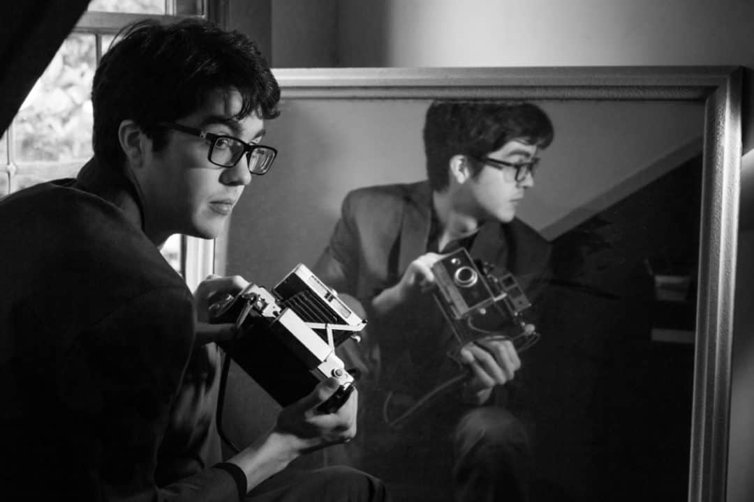 Carseat Head Rest shot by Photographer By Anna Webber in Seattle Washington for Matador Records.
