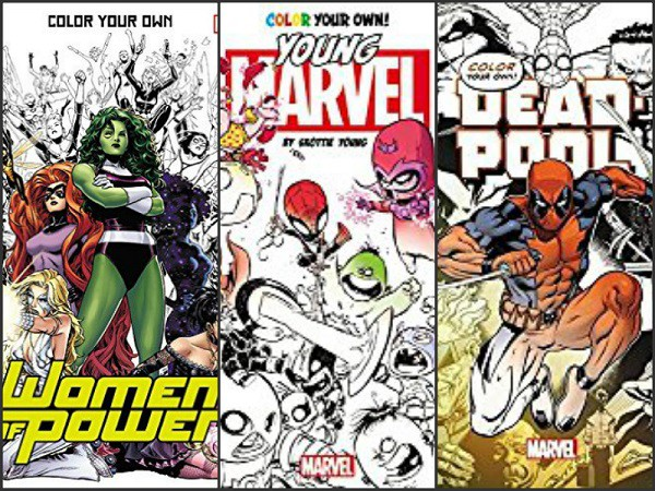 Adult Coloring Books for the Comic Fan – PopCultHQ