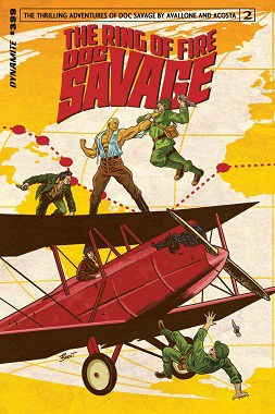 Doc Savage – Ring of Fire #2 feature