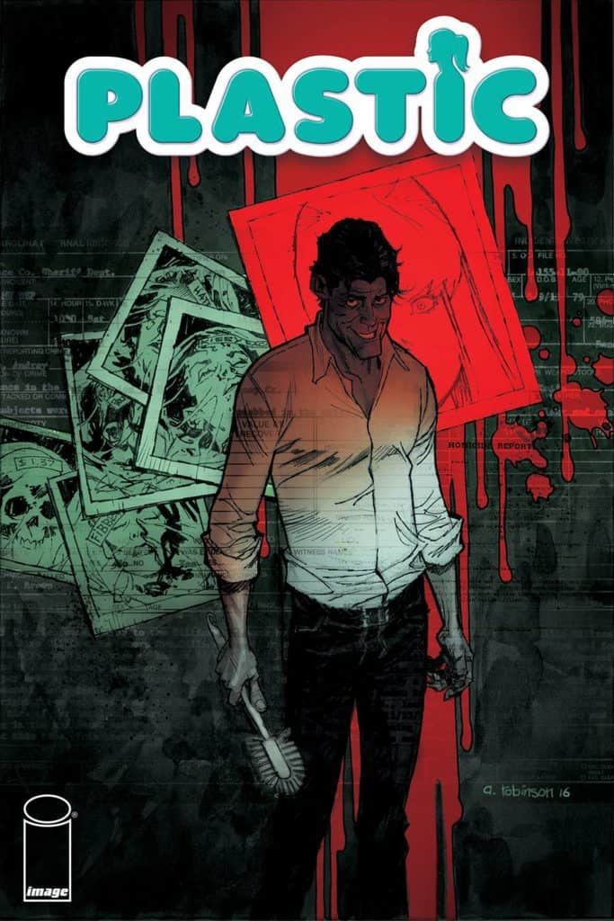 Plastic #1 – Cover A by Andrew Robinson