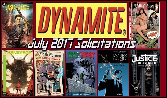 Dynamite July 2017 Solicits feature
