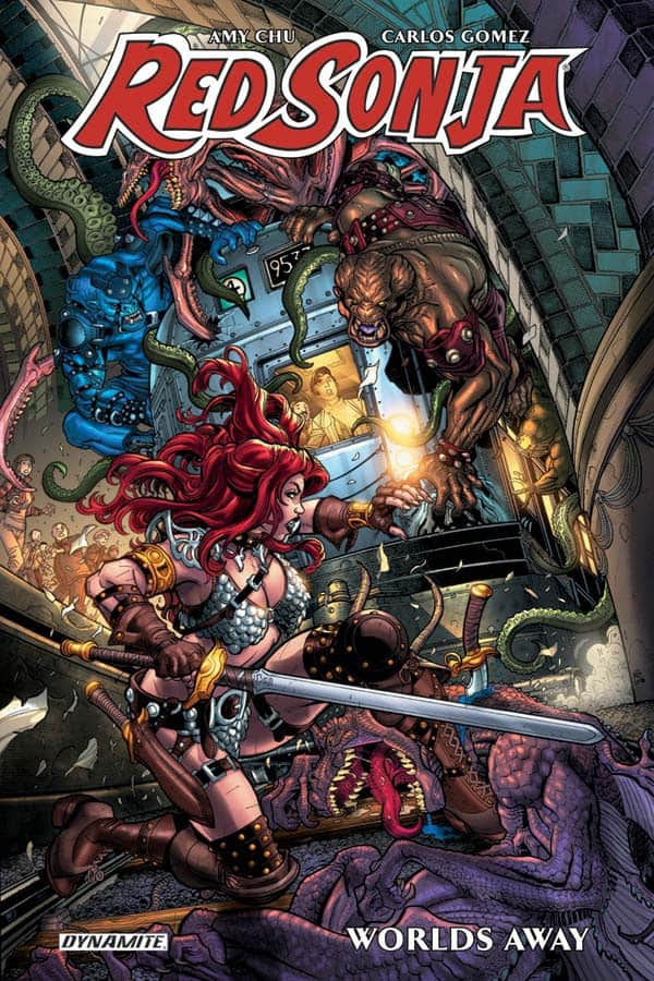 RED SONJA WORLDS AWAY TP
