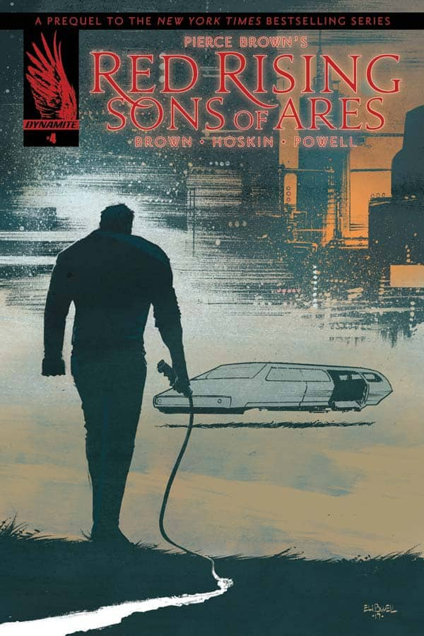 Pierce Browns Red Rising Sons Of Ares 4 Cover B By Eli Powell