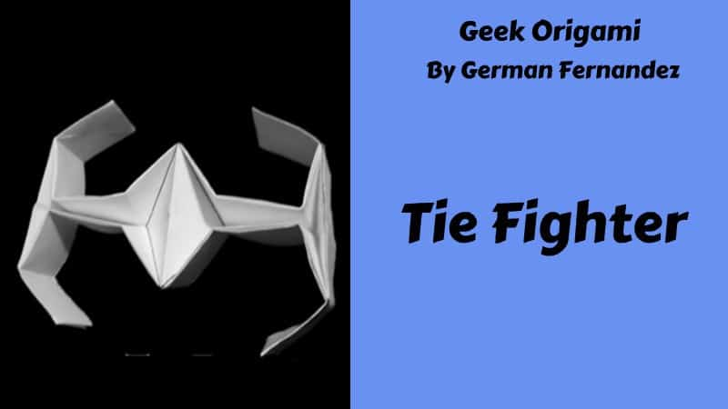Origami Star Wars Tie Fighter (Easy) Version 1.0 : 3 Steps - Instructables | 450x800