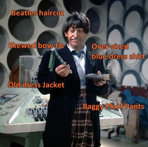 2nd doctor costume