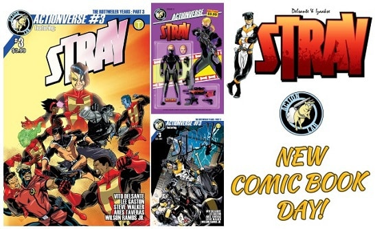 Actionverse #3 Featuring Stray feature