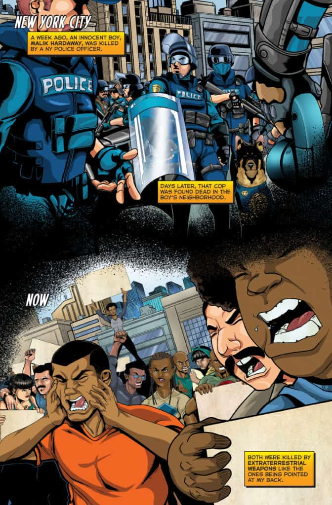 Actionverse #4 featuring Stray Page 1