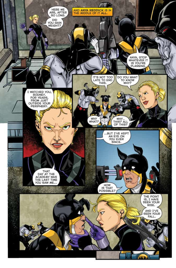 Actionverse #4 featuring Stray Page 2