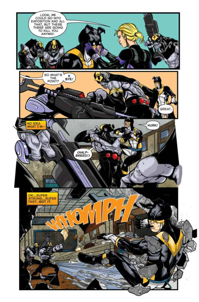 Actionverse #4 featuring Stray Page 4
