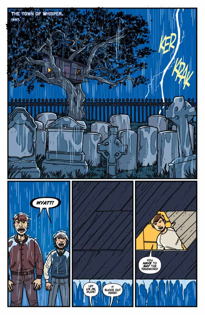 Cult Classic – Return to Whisper #1 – page 1
