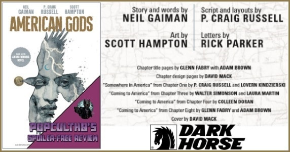 American Gods V. 1 HC review feature