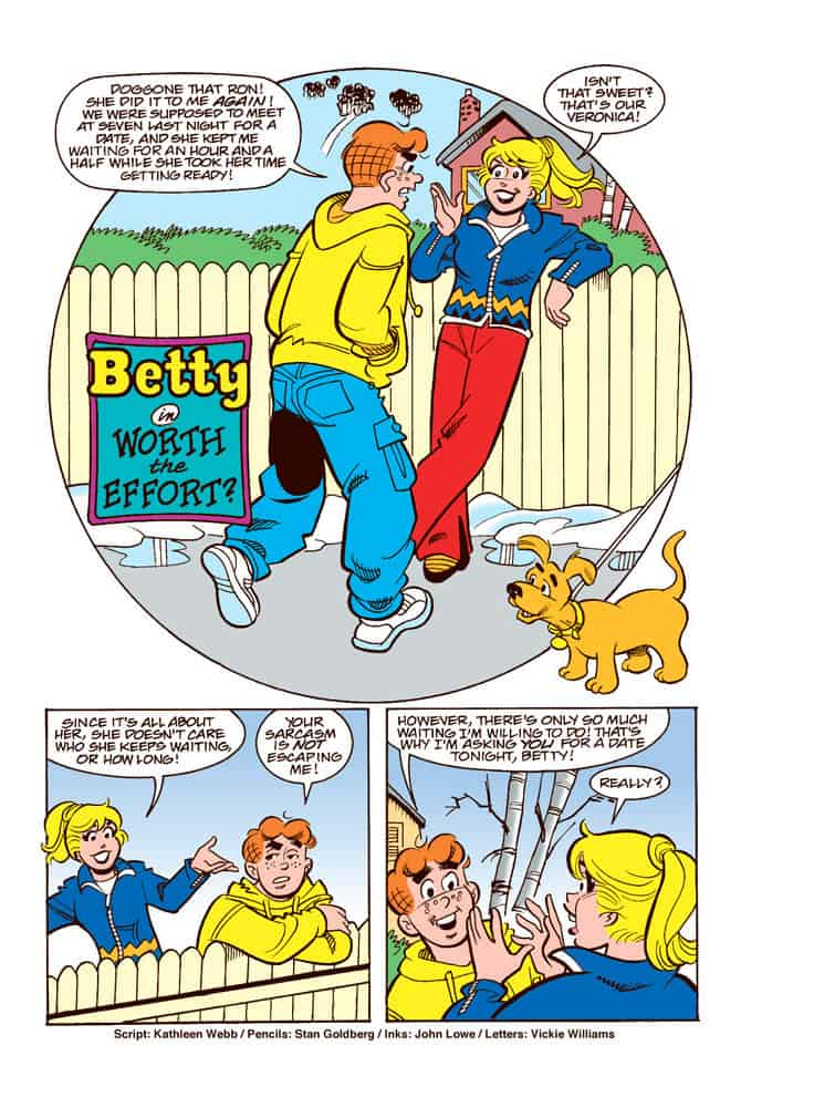 Betty and Veronica and friends