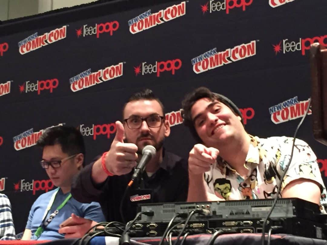 Donny Cates and Eliot Rahal
