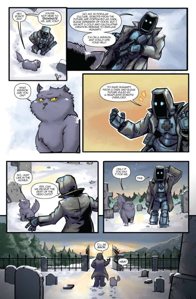 Hero Cats #20 Page 5