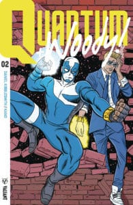 QUANTUM AND WOODY! #2 - Q&W Icon Variant by Mike Allred