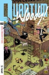 QUANTUM AND WOODY! #2 - Pre-Order Edition Variant by Nick Pitarra