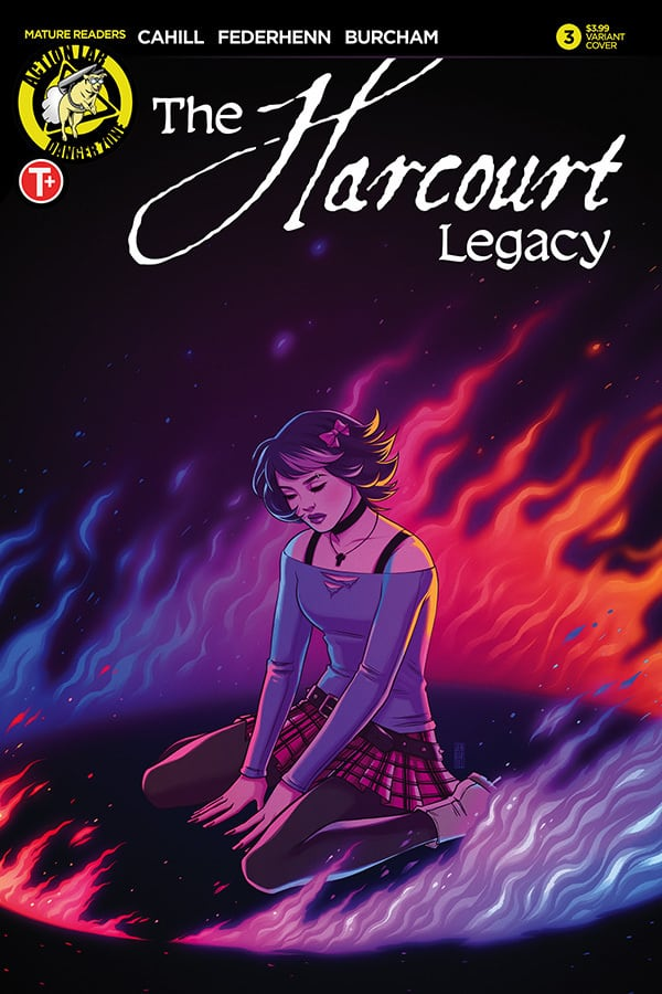 The Harcourt Legacy #3 - Cover B by Jen Bartel