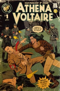 Athena Voltaire and the Sorcerer Pope #1 Cover B