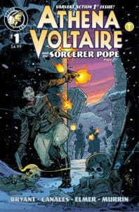 Athena Voltaire and the Sorcerer Pope #1 Cover C