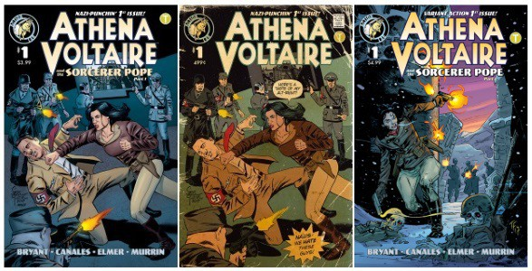 Athena Voltaire and the Sorcerer Pope #1