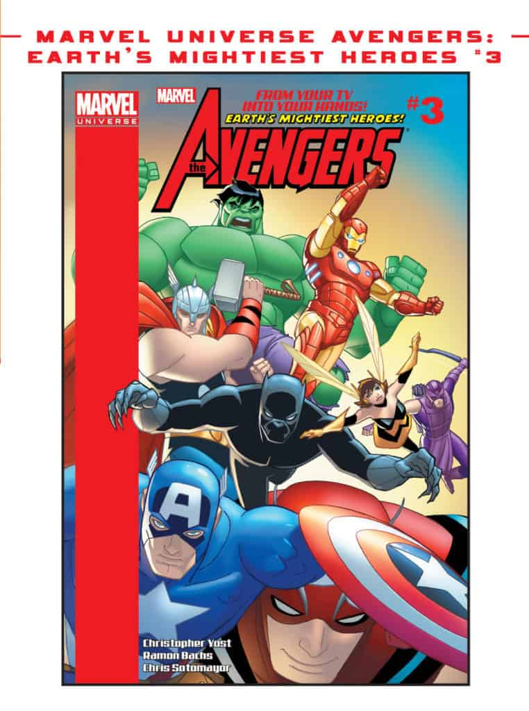 Earth's Mightiest Heroes the avengers #3