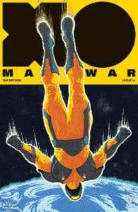 X-O Manowar #14 - Cover B by Raul Allen