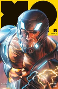 X-O Manowar #14 - X-O Manowar Icon Variant by Felipe Massafera