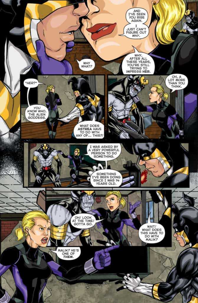 Actionverse Featuring Stray Volume 1 #4 Page 3