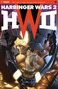 Harbinger Wars 2 #1 - Cover B by Mico Suayan