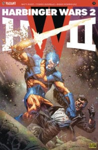 Harbinger Wars 2 #1 - Pre-Order Edition Variant by Tomas Giorello