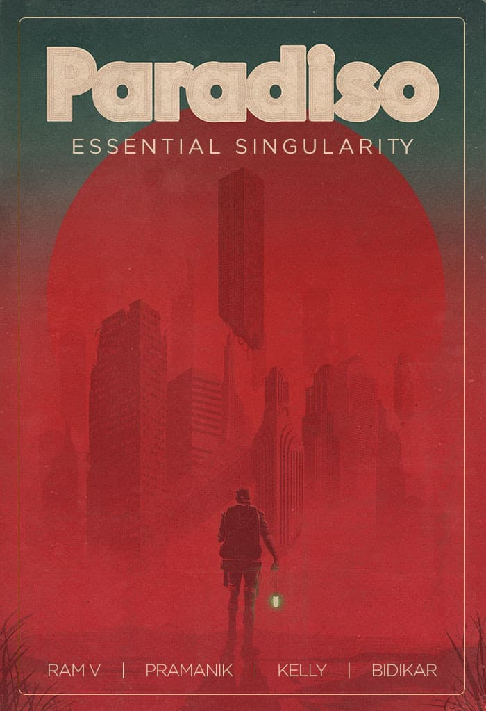 PARADISO, VOL. 1: ESSENTIAL SINGULARITY TPB Book Market Edition cover