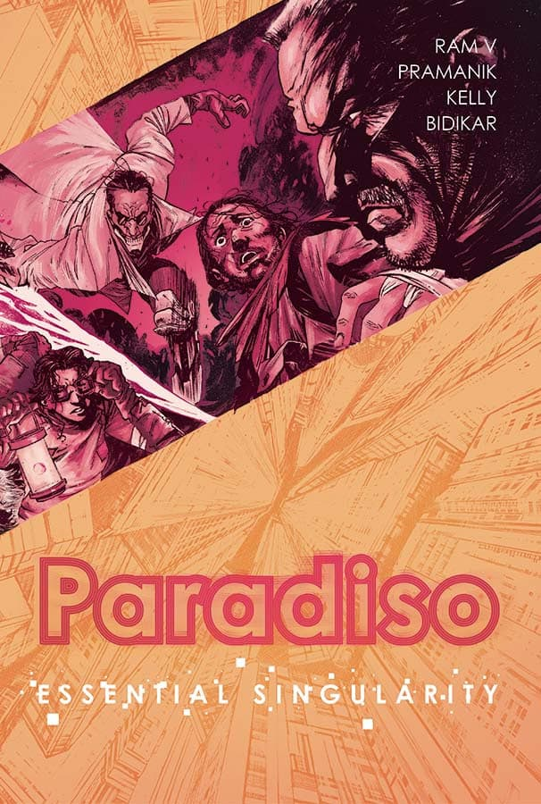 PARADISO, VOL. 1: ESSENTIAL SINGULARITY TPB cover