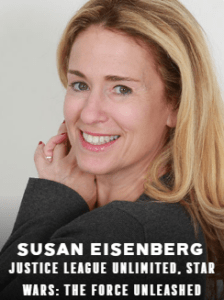 Sus Eisenberg appearing at C2E2 2018