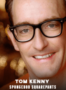 Tom Kenny appearing at C2E2 2018