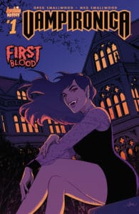 Vampironica #1 - Variant Cover by Audrey Mok