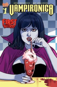 Vampironica #1 - Variant Cover by Marguerite Sauvage
