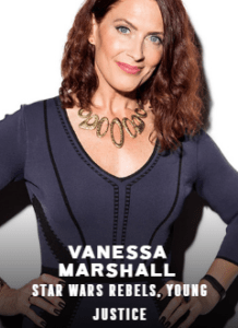 Vanessa Marshall appearing at C2E2 2018