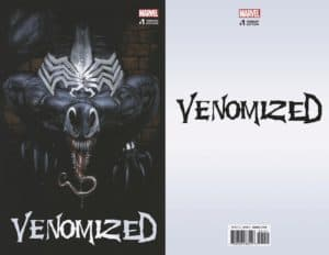 Venomized #1 - Cover E by Gabriele Dell'Otto