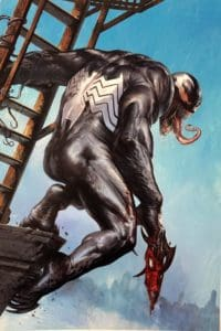 Venomized #1 - Cover F by Gabriele Dell'Otto