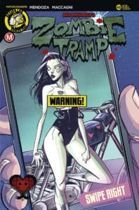 Zombie Tramp #45 - Cover B – Celor Risqué Cover