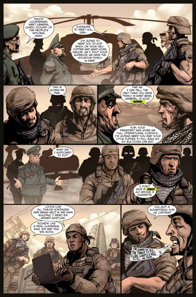Aberrant issue #1 page 5