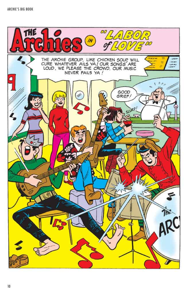 Archies Big book Volume 3- Rock N Roll