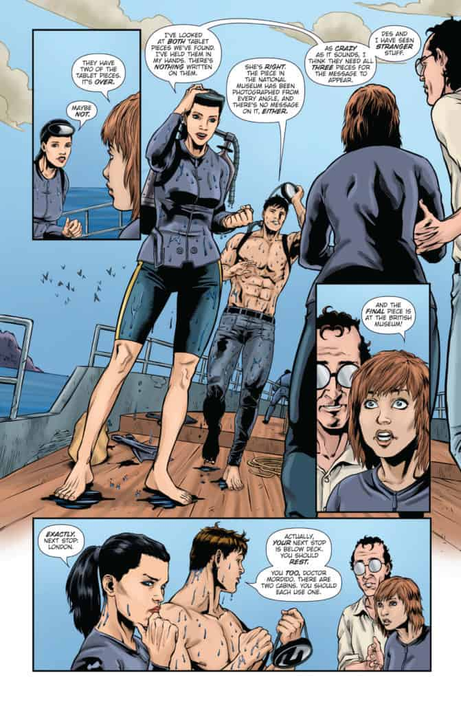 Athena Voltaire and the Sorcerer Pope #3 Page 4